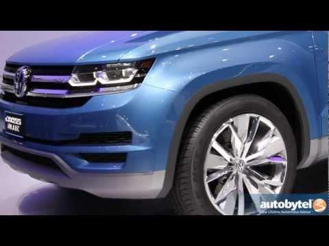 Volkswagen CrossBlue TDI Diesel Hybrid Concept Car Video @ 2013 Detroit Auto Show
