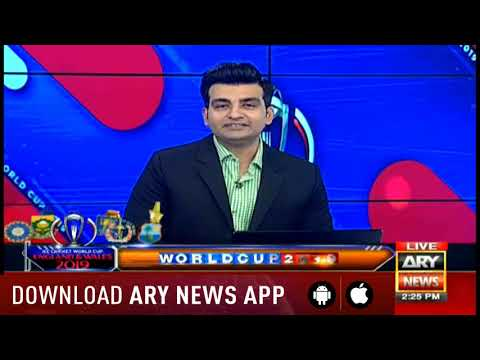 ARY NEWS World Cup special program with Najeeb ul Hasnain 28th June