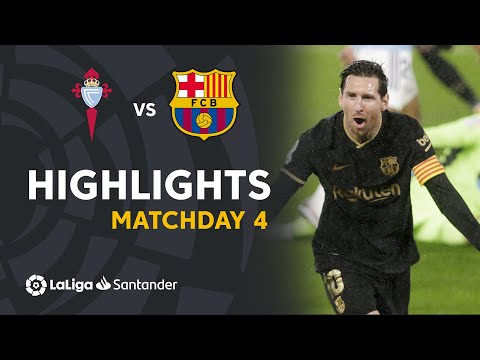 Highlights RC Celta vs FC Barcelona (0-3)