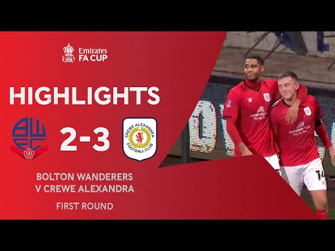 Bolton Crewe Goals And Highlights