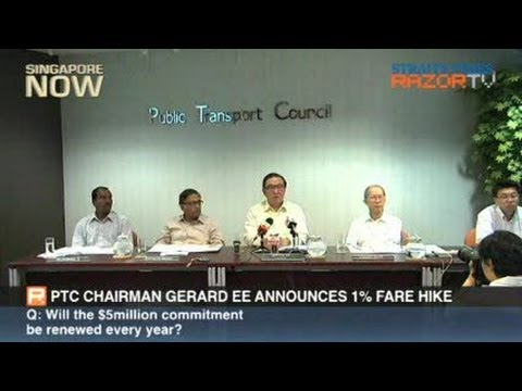 Fare hike when economy is bad?