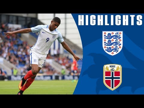 Rashford's hat-trick - England U21 6-1 Norway U21   Goals & Highlights