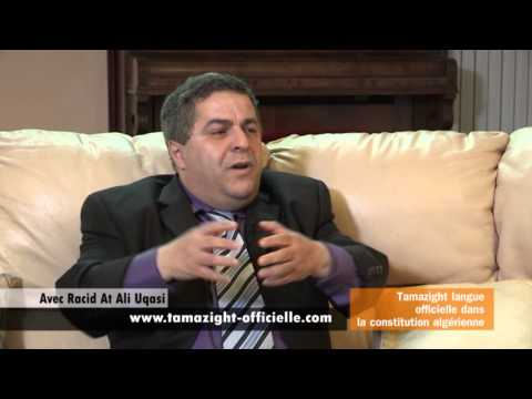 Tamazight langue officielle avec Rachi Ali Uqasi sur Berbère Télévision