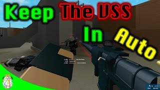 Roblox Phantom Forces - Keep the VSS in Auto!