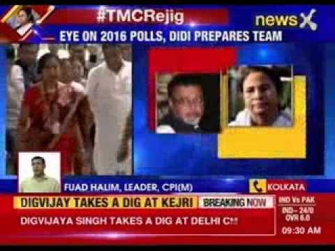 Mamata Banerjee finally sidelines Mukul Roy, appoints new party office bearers