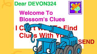 Let's Play Blossom's Clues Send A Letter To DEVON324 Game