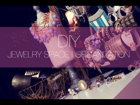 DIY JEWELRY SPACE | ORGANIZATION