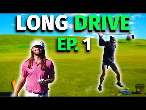 My Journey to Long Drive with World Champion Kyle Berkshire | Ep1 | Micah Morris