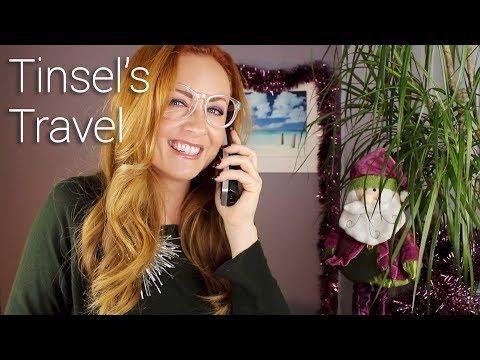 Tinsel's Travel 🎅🏽 ASMR Roleplay 🎅🏽 w/ Pamela