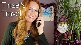 Tinsel's Travel 🎅🏽 ASMR Roleplay 🎅🏽 w/ Pamela