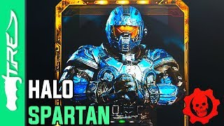 HALO SPARTAN Character Coming to Gears of War 4? (Gears of War 4 LEAKED Halo Character?)