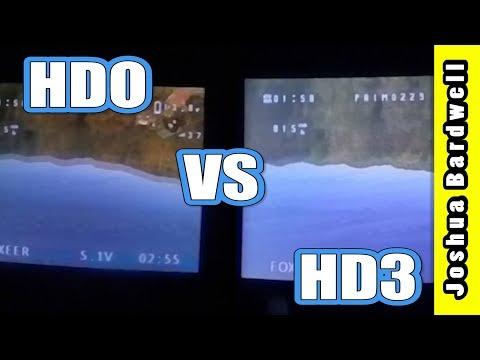Fatshark HDO vs HD3 In-Goggle Simultaneous View