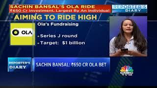 Sachin Bansal: `650 Cr OLA Bet