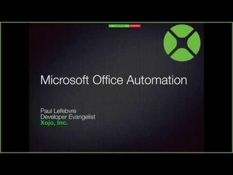 Microsoft Office Automation