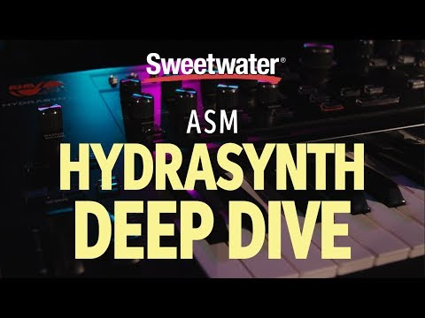 ASM Hydrasynth Synthesizer Deep Dive By Daniel Fisher