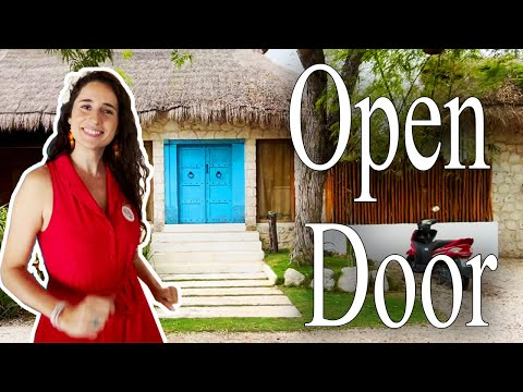 The Most Relaxing Tulum Villa Tour - Dear Alyne Retreat   Open Door   Architectural Digest