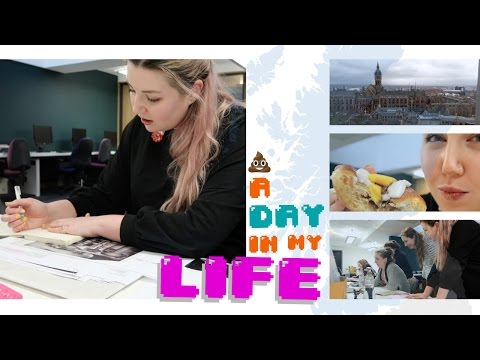 A Day in My Life at Glasgow Uni