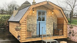 Stunning Gorgeous The Shepherds Hut Pod Tiny House For Sale | Lovely Tiny House