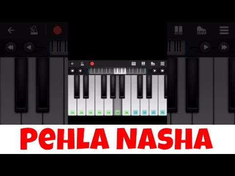 Pehla nasha I Perfect Piano Tutorial | Mobile Piano Tutorial Hindi Songs  | Easy App instrumental