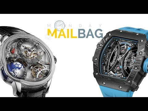 Mailbag! Richard Mille v Greubel Forsey, SIHH 2018 Questions, Patek Alternatives, Collecting Watches