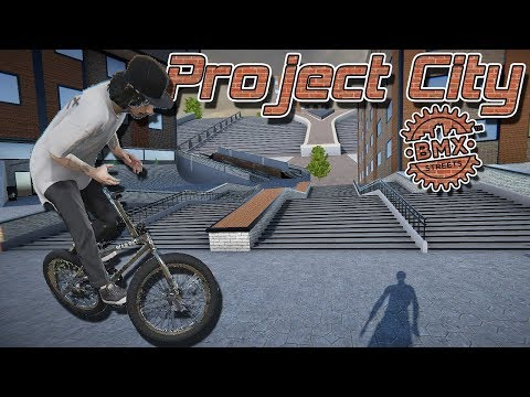 Project City First Release! - BMX Streets PIPE