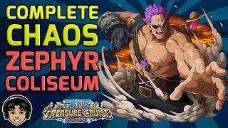 Walkthrough for Complete Chaos Zephyr Global Coliseum [One Piece Treasure Cruise]