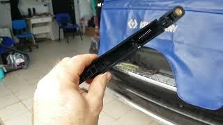 Mercedes GL.  Как снять поводок заднего стеклоочистителя. Жестоко пилить🤣