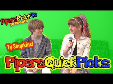 TY SIMPKINS from JURASSIC WORLD Talks Selena, Miley, Iron Man 3 & Insidious with PIPER REESE!