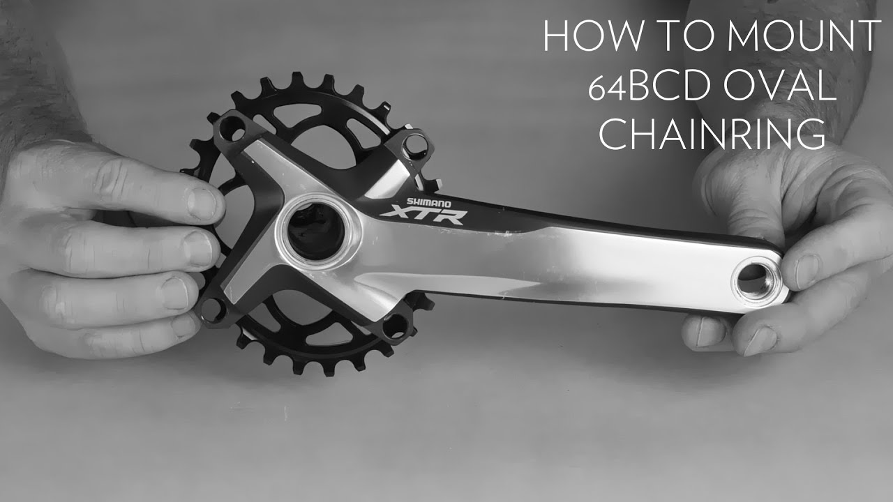 how to change xt chainring