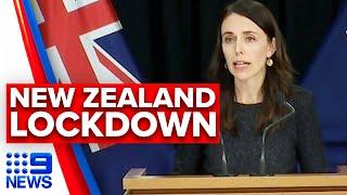 Coronavirus: New Zealand records first COVID-19 cases in 102 days | 9News Australia
