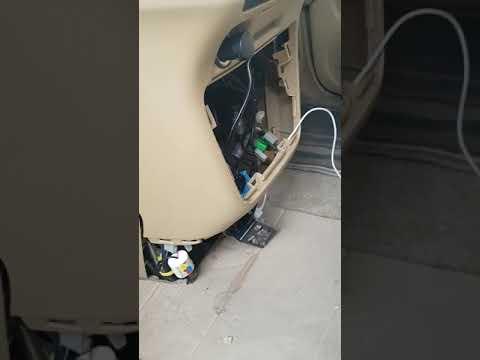 Снятие автомагнитолы Honda Иллюзион