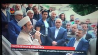 TRT DİYANET TV HABER DE BU AKŞAM...21.09.2016 KAHRAMANMARAŞ MÜFTÜSÜ SON YOLCULUĞUNA UĞURLANDI