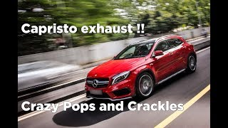Mercedes Benz GLA 45 AMG with Capristo Exhaust | India | #157