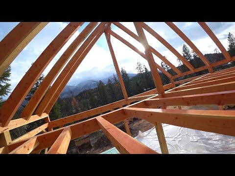 Download Youtube: FIRST TIME IN OUR TIMBER FRAME LOFT