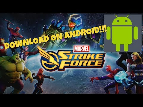 How To Download Marvel Strike Force On Android!!!