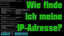 [TUT] Wie finde ich meine IP-Adresse? (Lokal + Internet) [4K | DE]