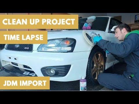 JDM IMPORT   2001 Subaru Legacy RSK B4 Project   Mario Kay