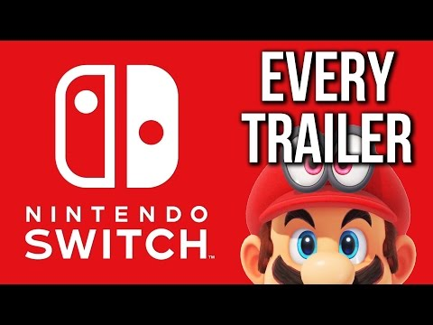 Every Nintendo Switch Game Trailer