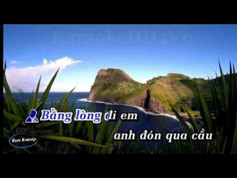 Karaoke Lien Khuc Que Huong 1 - (Song Ca Voi Ngoc Vy)