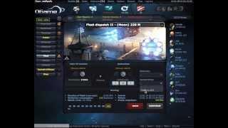 OGame: ACS your fleet