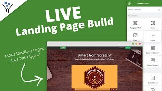 How to Build a Landing Page like Pat Flynn (Smart Passive Income)