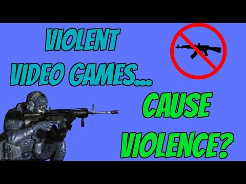Blaming Video games for gun Violence