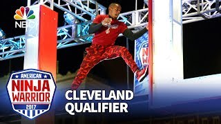 Najee Richardson at the Cleveland Qualifiers - American Ninja Warrior 2017
