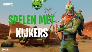 [LIVE] [NEDERLANDS] SPELEN MET KIJKERS !690+ wins - Fortnite battle royal @Giveaway