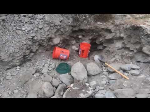 East Fork San Gabriel River Prospecting - First Gold - 6-11-17
