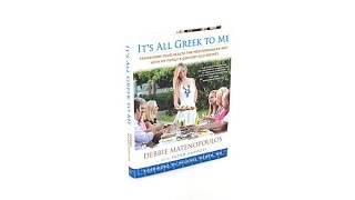 'It's All Greek To Me' Handsigned Cookbook