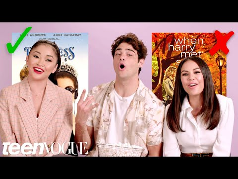 &39;To All the Boys I&39;ve Loved Before&39; Cast Test Their Rom-Com Knowledge  Teen Vogue