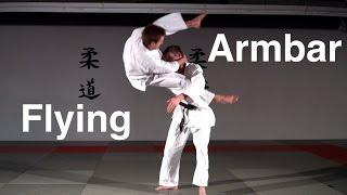 Flying Armbar (Flying Juji-Gatame)