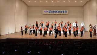 第37回 砺波地区吹奏楽祭 12 福野中