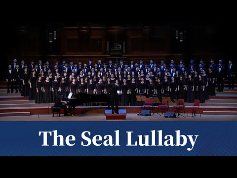 The Seal Lullaby (Eric Whitacre) - National Taiwan University Chorus